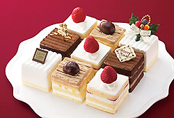 四角いケーキ詰め合わせ