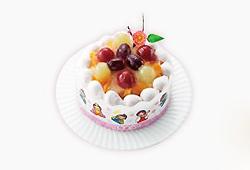ひなまつりフルーツケーキ