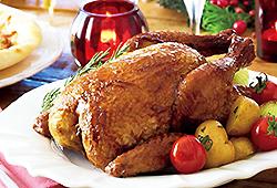 国産若鶏の丸焼き
