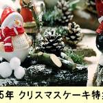【セブンイレブン】クリスマスケーキ2015!おすすめと予約方法