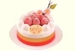 ひなまつり いちごのショートケーキ4号