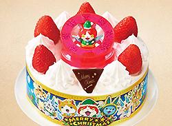セブンイレブン キャラクターケーキ